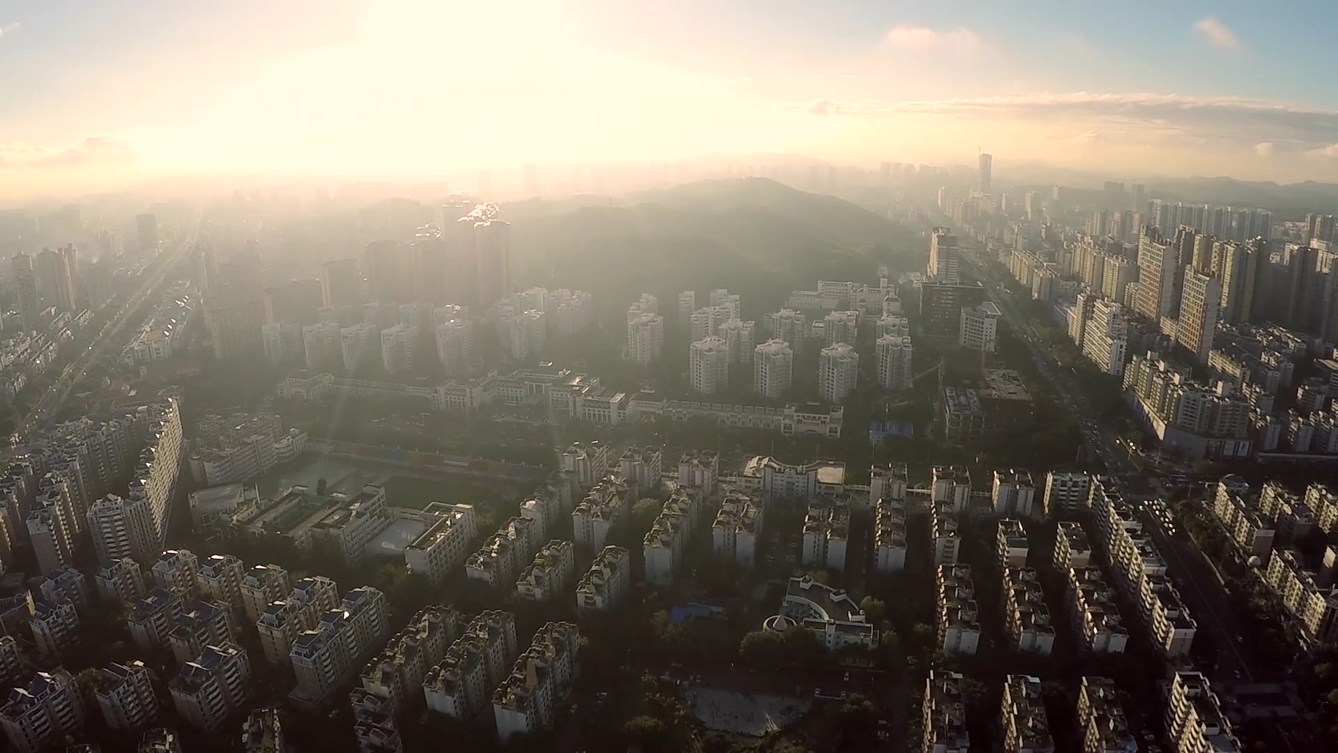 JTT UAV-Aerial photography of Longgang, Shenzhen, China