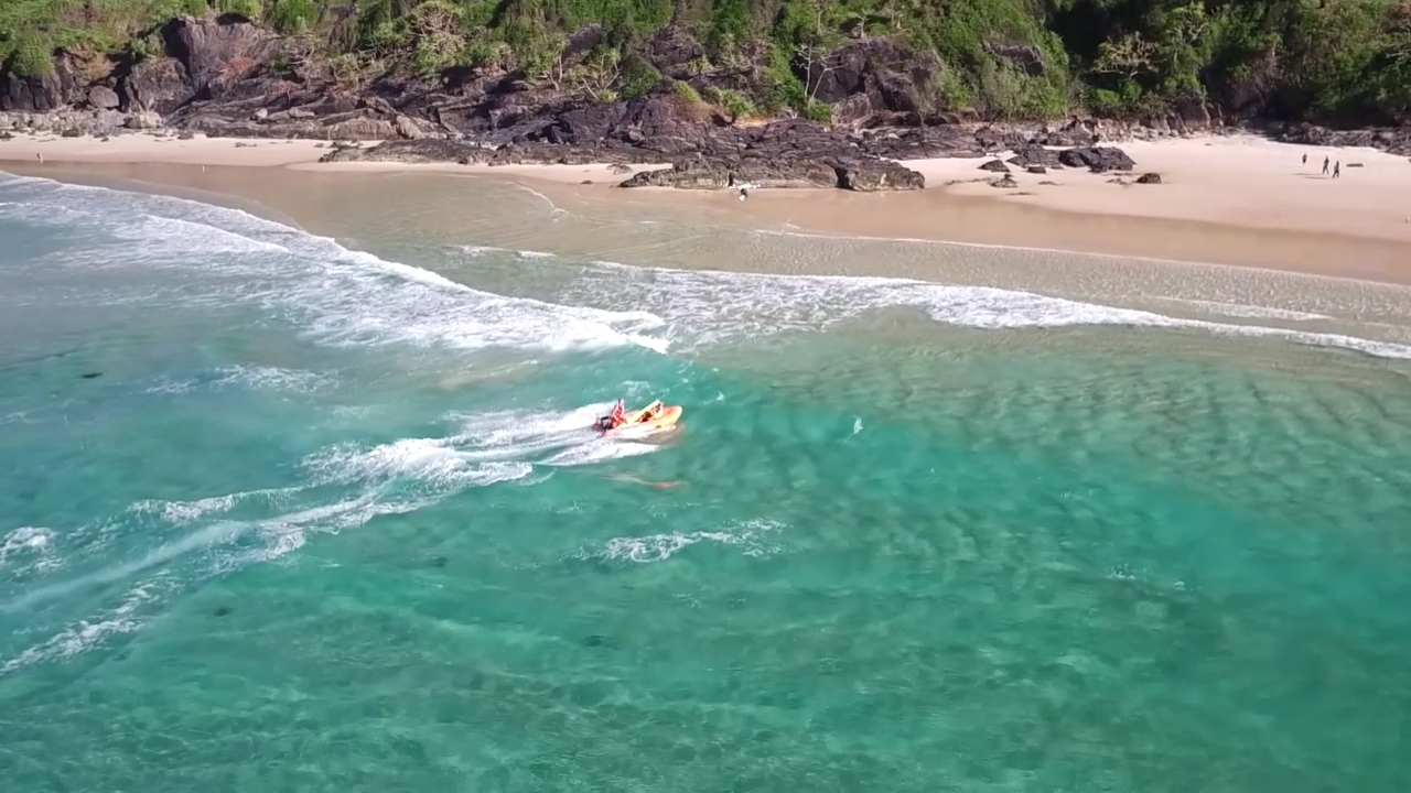 JTT T60 Life saving drone working with Little Ripper