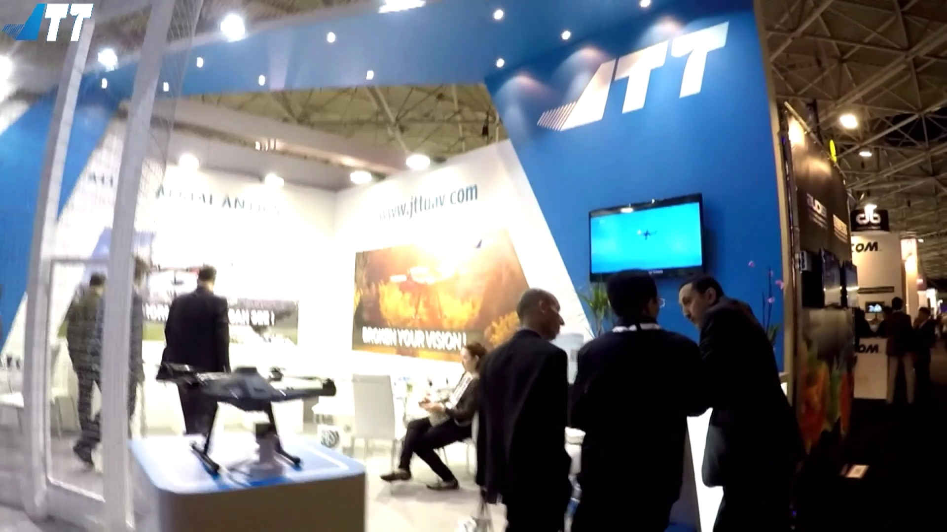 JTT UAV-Holland unmanned aerial vehicle exhibition