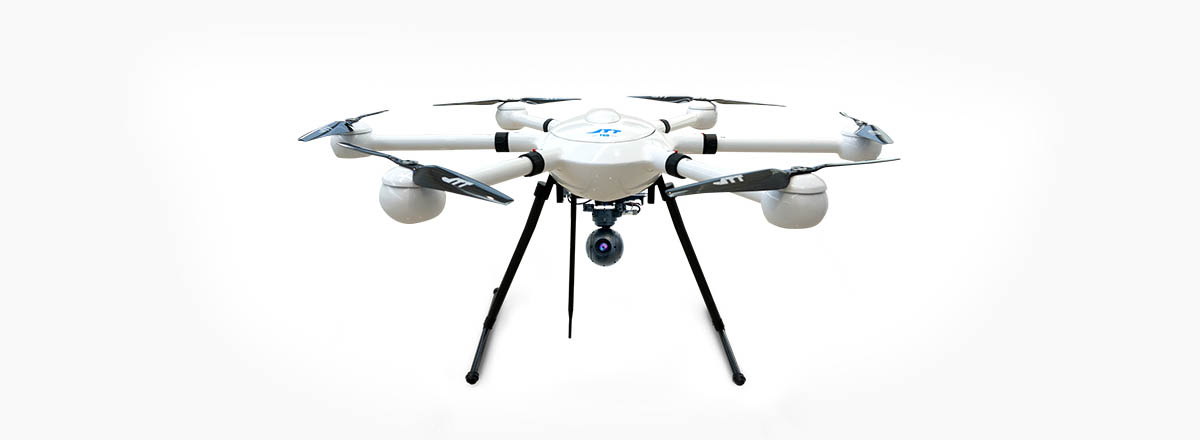 JTT T60C drone with HD camera black white