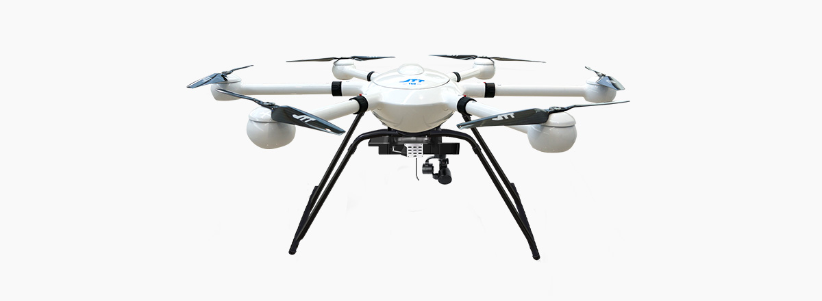 JTT UAV drone with long battery life T60V2 aerial photography black white drone