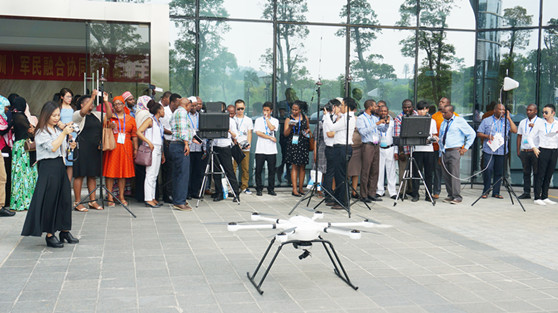 Senior Military Officers from Zanzibar and Lesotho Visited JTT Technology for Drone Technology Exchange