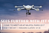 JTT UAV Exhibits in Milipol Paris 2017 with Anti-Terror UAV Solutions