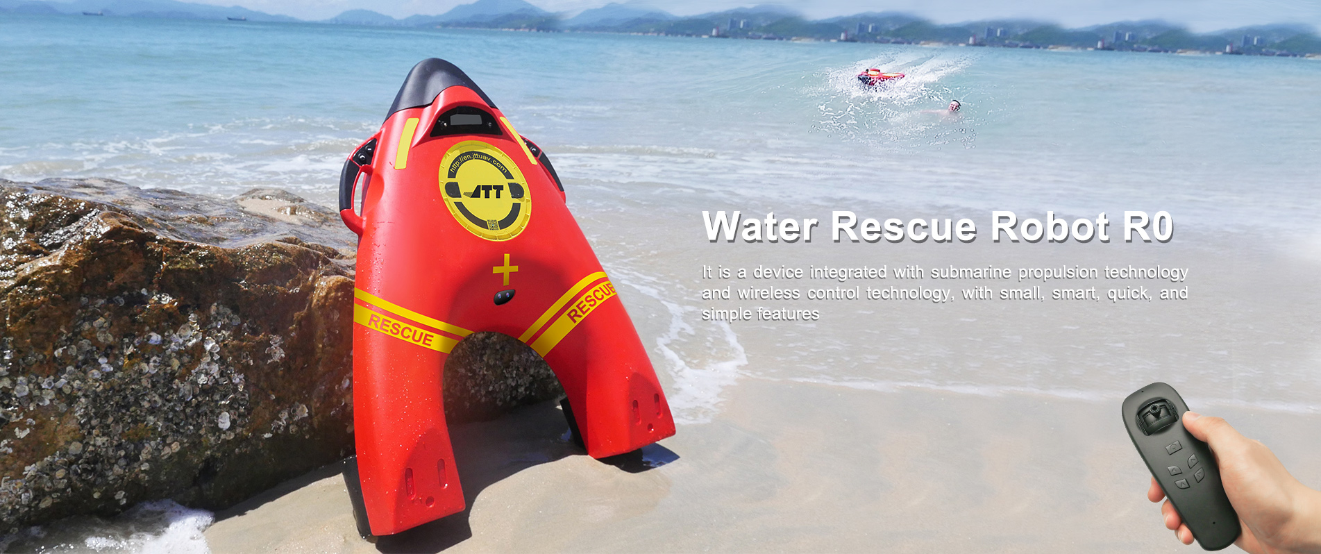 Water Rescue Robot R0