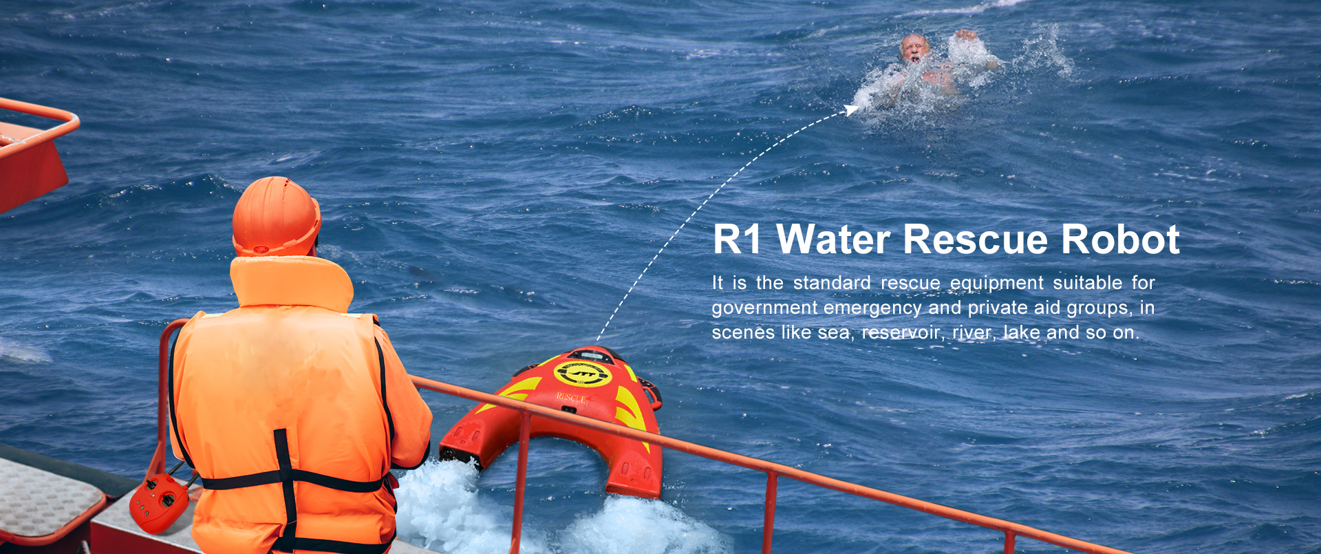 Water Rescue Robot R1