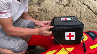 Marine first aid supplies delivery